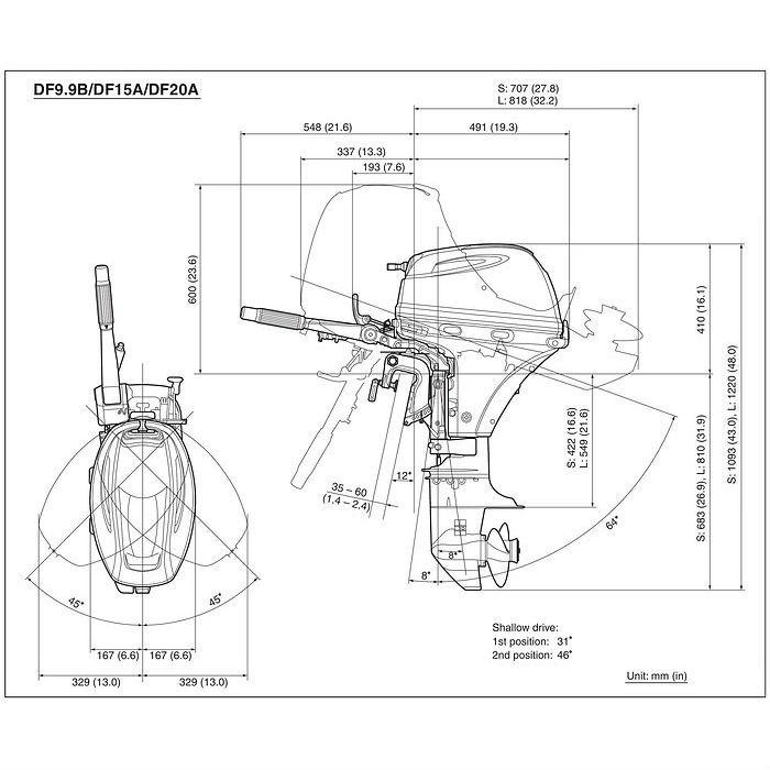 эл.стартер для лодочного мотора suzuki